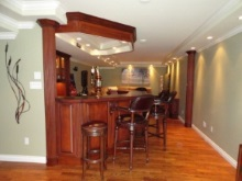 Bars - Entertainment Centres - Interior Renovations - Hamilton Thorne Quality Cabinets - Project-5