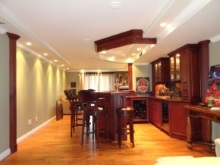 Bars - Entertainment Centres - Interior Renovations - Hamilton Thorne Quality Cabinets - Project-6