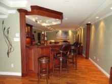 Decorative trims, crown moulding, and interior renovations by Quality Cabinets - Parksville - Qualicum - Project-12