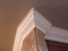 Decorative trims, crown moulding, and interior renovations by Quality Cabinets - Parksville - Qualicum - Project-18