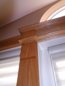 Decorative trims, crown moulding, and interior renovations by Quality Cabinets - Parksville - Qualicum - Project-24