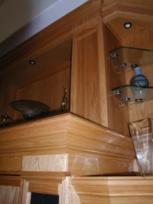 Decorative trims, crown moulding, and interior renovations by Quality Cabinets - Parksville - Qualicum - Project-25