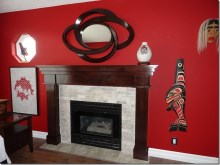Custom Designed Fierplace Mantels and Fireplace Surrounds by Hamilton Thorne Quality Cabimets Ltd. - Project-17
