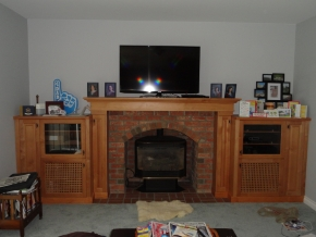 Custom Designed Fierplace Mantels and Fireplace Surrounds by Hamilton Thorne Quality Cabimets Ltd. - Project-11