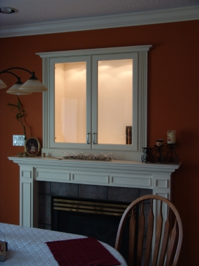 Custom Designed Fierplace Mantels and Fireplace Surrounds by Hamilton Thorne Quality Cabimets Ltd. - Project-12