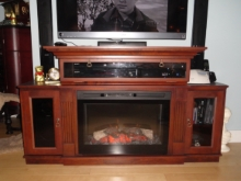 Custom Designed Fierplace Mantels and Fireplace Surrounds by Hamilton Thorne Quality Cabimets Ltd. - Project-19