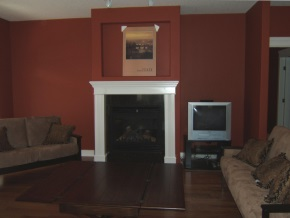 Custom Designed Fierplace Mantels and Fireplace Surrounds by Hamilton Thorne Quality Cabimets Ltd. - Project-6