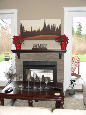 Custom Designed Fierplace Mantels and Fireplace Surrounds by Hamilton Thorne Quality Cabimets Ltd. - Project-7