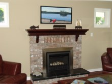 Custom Designed Fierplace Mantels and Fireplace Surrounds by Hamilton Thorne Quality Cabimets Ltd. - Project-9
