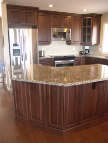 Custom Kitchens and interior renovations by Quality Cabinets - Parksville - Qualicum Project=219
