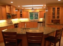 Custom Kitchens and interior renovations by Quality Cabinets - Parksville - Qualicum Project=509