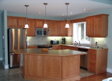 Custom Kitchens and interior renovations by Quality Cabinets - Parksville - Qualicum Project-DSC09134