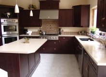 Custom Kitchens and interior renovations by Quality Cabinets - Parksville - Qualicum Project-DSC09857