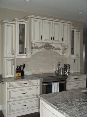 Custom Kitchens and interior renovations by Quality Cabinets - Parksville  - Qualicum Project-Cherry Arch Square