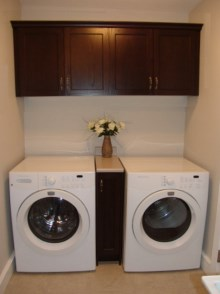 Laundry room cabinets and renovations by Quality Cabinets - Parksville - Qualicum - Project-13