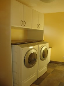 Laundry room cabinets and renovations by Quality Cabinets - Parksville - Qualicum - Project-5a