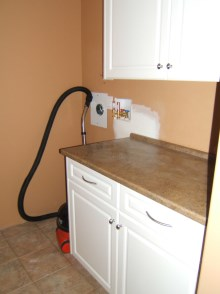 Laundry room cabinets and renovations by Quality Cabinets - Parksville - Qualicum - Project-9