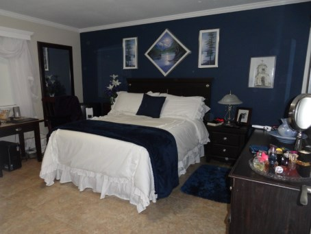 Bedroom after - Hamilton Thorne Quality Cabinets interior and exterior painting