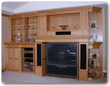 Entertainment Centres and Interior Renovations at QualityCabinets.ca - Parksville Qualicum